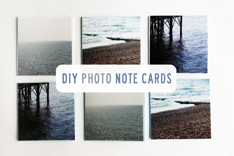 DIY Photo Note Cards