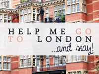 Help me go to London!