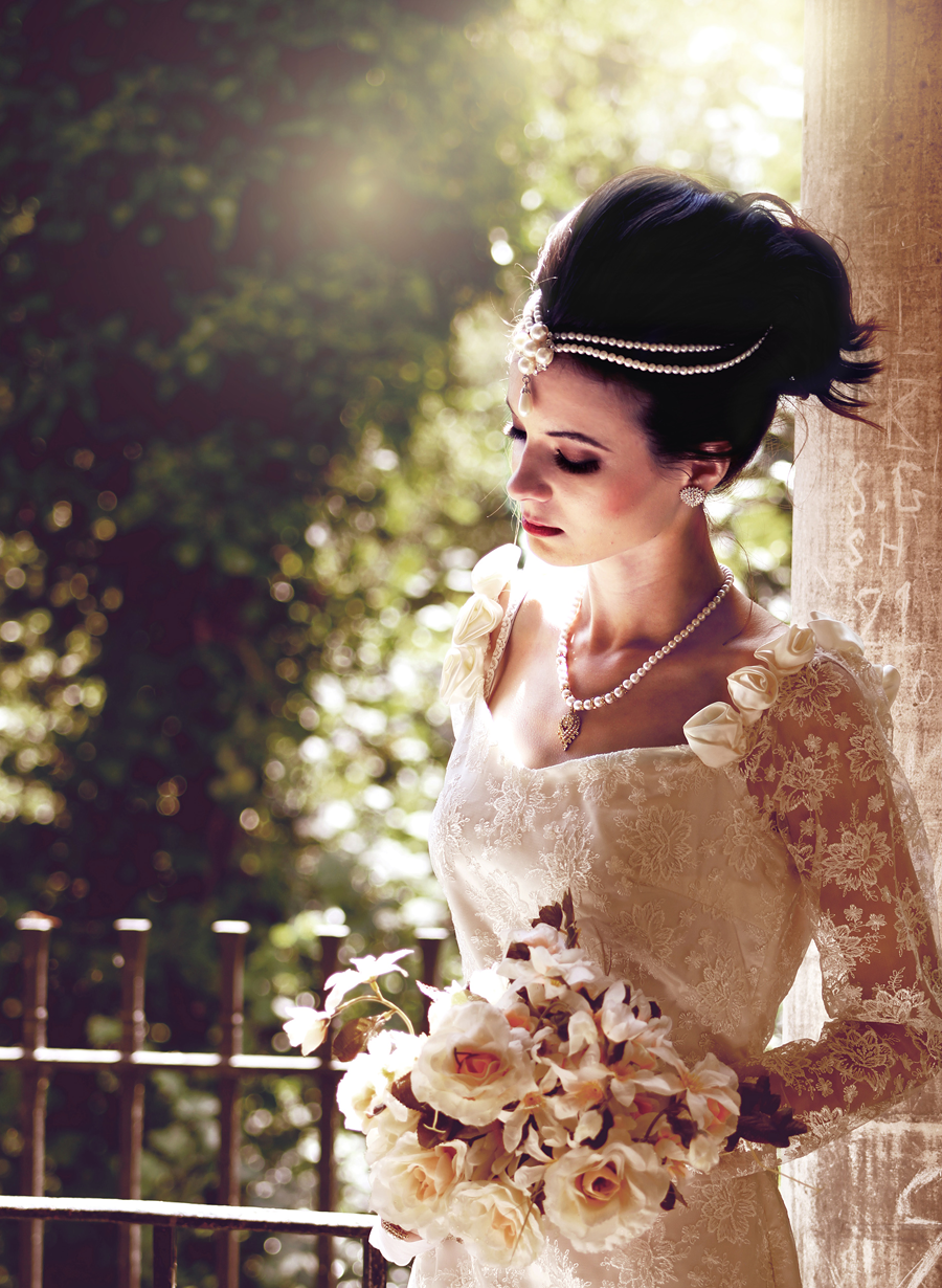 Bridal Shoot - Lix Hewett photographed by Pagli Rajkonna