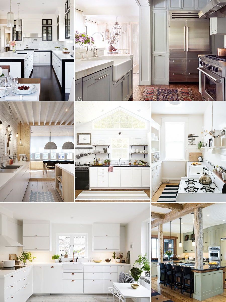 Kitchen Inspiration (Pinterest Collage)