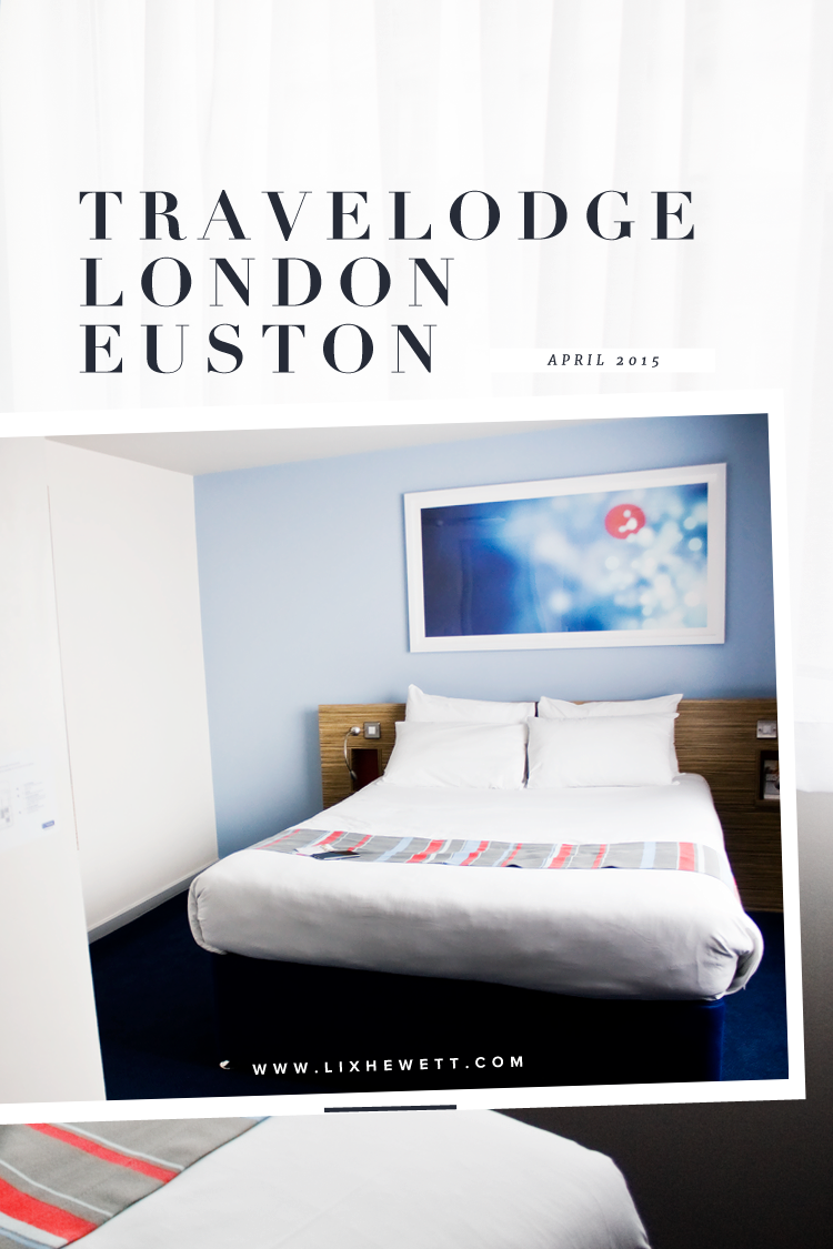 Travelodge London Euston Hotel Review / Lix Hewett