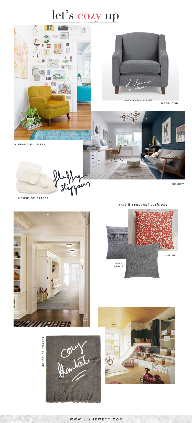 Home / Make Your Spaces Extra Cozy For the Cold