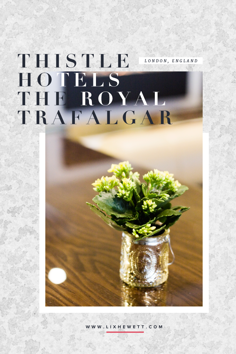 London / Thistle Trafalgar Square, The Royal Trafalgar Hotel Review / Lix Hewett