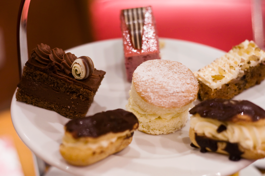 Patisserie Valerie Afternoon Tea / Lix Hewett