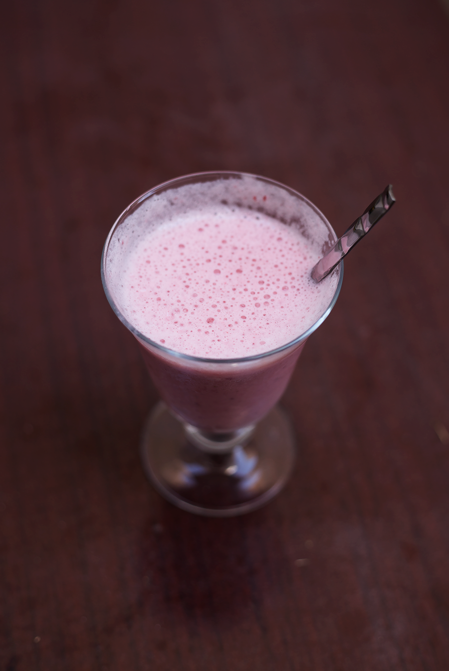Strawberry Ice Cream Drink / lixhewett.com